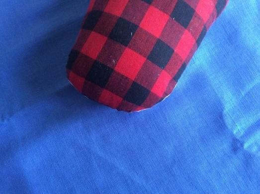 Cornflower blue linen and my very own ham!