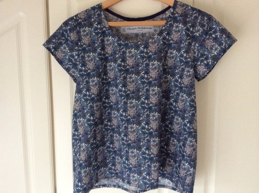 Grainline Scouttee in Liberty Tana Lawn